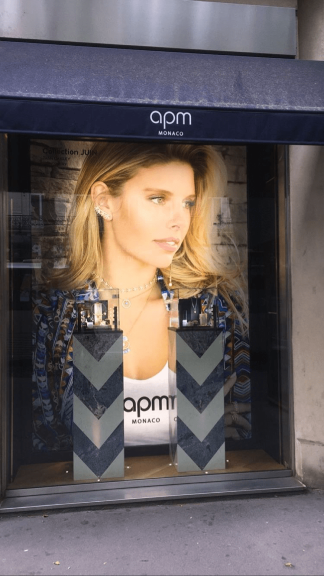 point of sale advertising APM monac paris