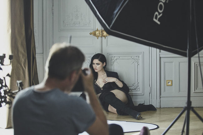 fashion photography behind the scenes kristina bazan