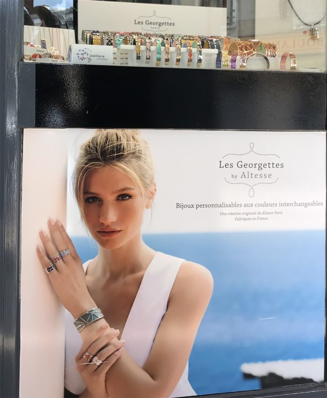 point of sale advertising les georgettes by altesse