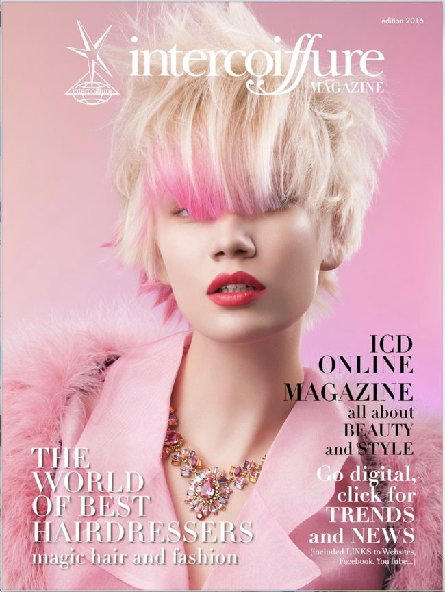 intercoiffure magazine cover trends