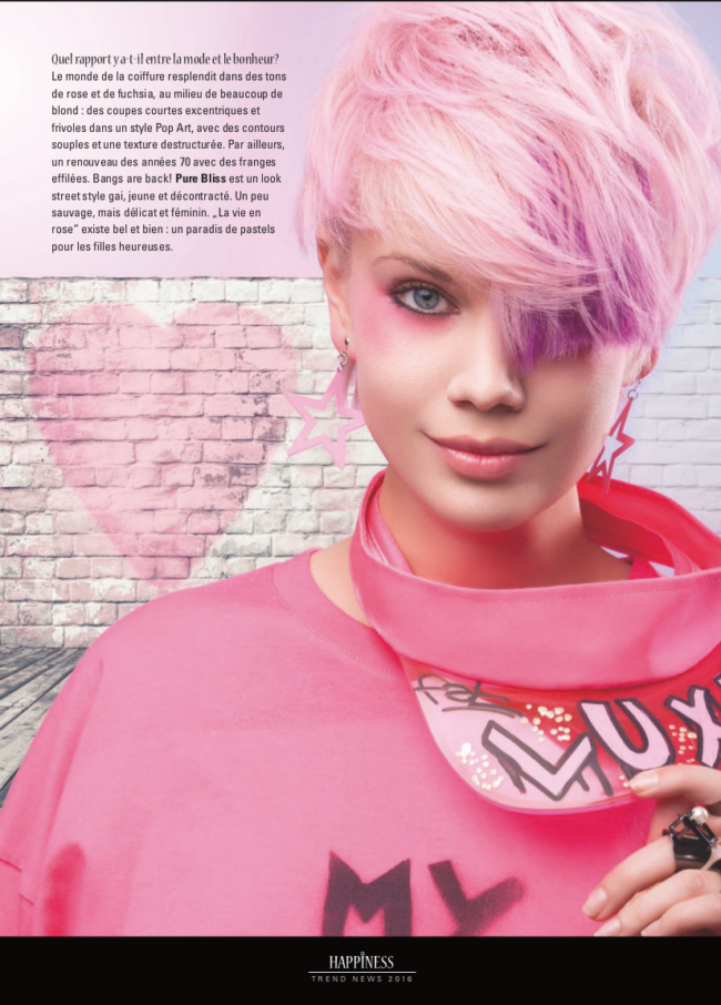 published intercoiffure magazine
