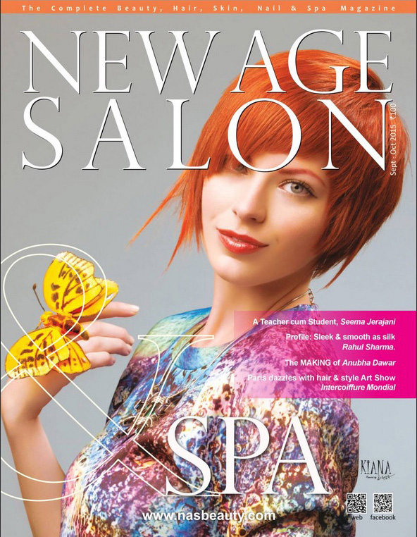 magazine cover new age salon