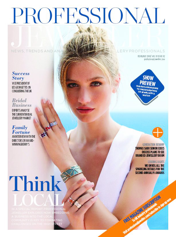 magazine cover professional jeweller